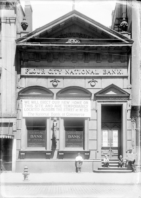 Flour City National Bank [PHOTO: Albert R. Stone]